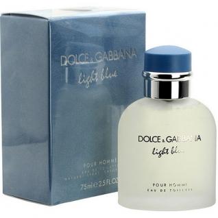 Dolce & Gabbana Light Blue pour Homme туалетная вода, 75 мл.