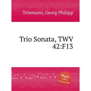 Трио соната, TWV 42:F13