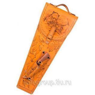 Шампура 6 шт. в колчане из натуральной кожи AKSO Россия