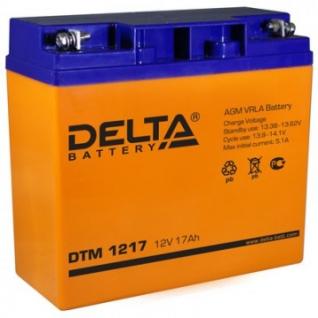 Аккумуляторная батарея Delta DTM 1217 (12V/17Ah)