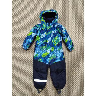 3432 Комбинезон синий для мальчика Super Gift (80-128) (86)