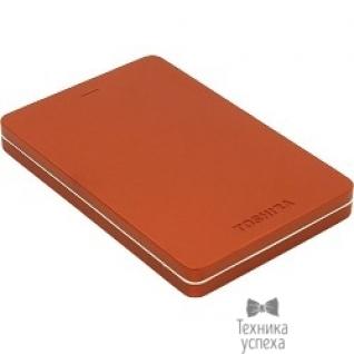 """Toshiba Toshiba Portable HDD 500Gb Stor.e Canvio Alu HDTH305ER3AA USB3.0, 2.5"""", красный"""