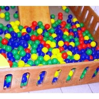 Мячи - шары для наполнения сухого бассейна