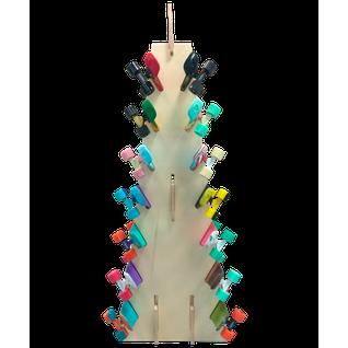 """Стойка для скейтбордов Ridex """"пирамида"""", островная, 184 см"""