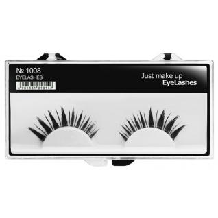 JUST - Накладные ресницы классические черные EyeLashes 1008
