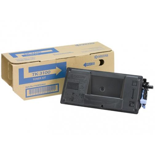 Тонер-картридж TK-3100 для KYOCERA FS-2100D, FS-2100DN, оригинальный (чёрный, 12500 стр.) 7302-01 851298