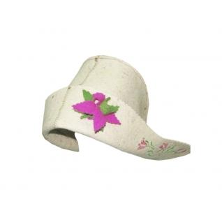 """Шляпа """"Герда"""" белая"""