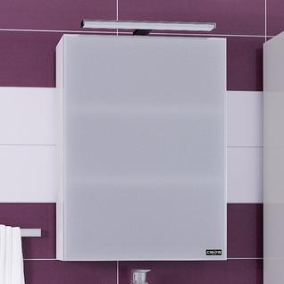 Зеркало-шкаф СанТа Стандарт 50 фацет, свет