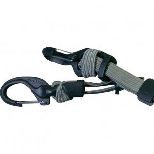 Такелажное крепление с карабином и веревкой Nite Ize Knotbone Adjustable Flat Bungee KBBF-03-26