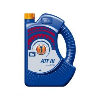 Трансмиссионное масло ТНК ATF III 4л