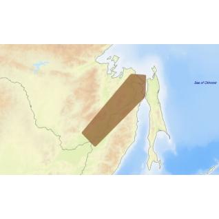 Карта C-MAP RS-N505 - Амур: Хабаровск - Николаевск C-MAP