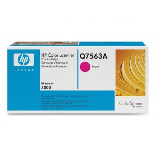 Оригинальный картридж Q7563A для HP CLJ 2700, 3000 (пурпурный, 3500 стр.) 905-01 Hewlett-Packard 852406