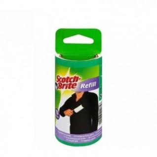 Ролик для чистки одежды 3М Scotch-Brite (запасной блок 30 л.)