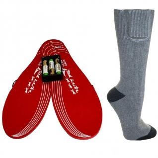 Комплект-подарок стельки и носки с подогревом RedLaika RL-ST-N-AA на батарейках