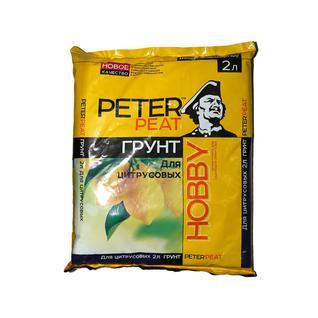Грунт PETER PEAT Цитрусовые линия Хобби 2 л