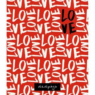 Тетрадь общая А5,48л,кл,скрепка, обл.офсет Love С3614-23