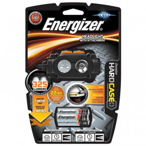 Фонарь налобный Energizer Hard Case Head Light With attachment 42471377 3