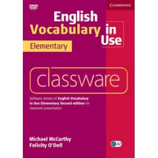 DVD. English Vocabulary in Use. Elementary Cambridge University Press