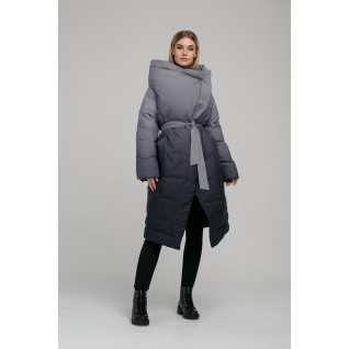 Пальто ODRI 18210149 Пальто ODRI BLACK WHITE