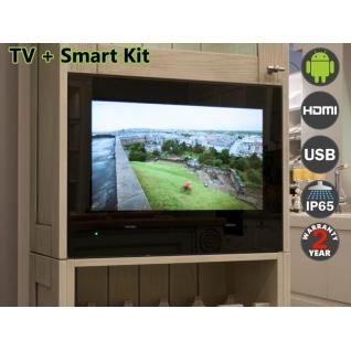 Телевизор AVS220K (черная рамка)+ SMART