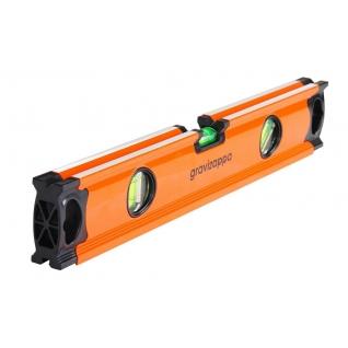 Уровень GRAVIZAPPA UST400A 400мм, 3 глазка, точность 0.5мм/м