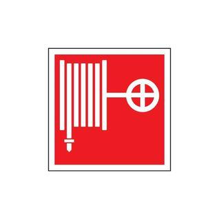 """Наклейка """"Пожарный кран"""" (100*100) Пожарное Оборудование"""