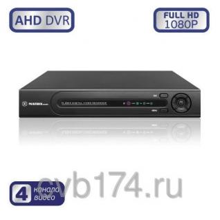 4-канальный AHD видеорегистратор MATRIX M-4AHD1080P Prime