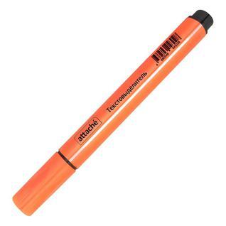 Маркер выделитель текста ATTACHE оранжевый 1-4 мм треугольный