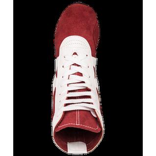 Обувь для самбо Rusco Rs001/2, замша, красный размер 39