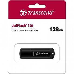 Флеш-память Transcend JetFlash 700 128GB USB 3.0, Черный (TS128GJF700)