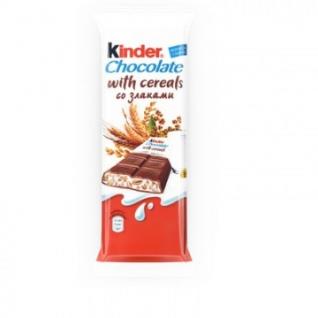 Шоколад Kinder со злаками 40штх23.5г