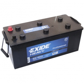 Аккумулятор EXIDE HEAVY Professional EG1803 180 Ah евро полярность - ЕG1803 EXIDE ЕG1803