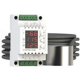 Терморегулятор для снеготаяния terneo sneg с датчиком осадков