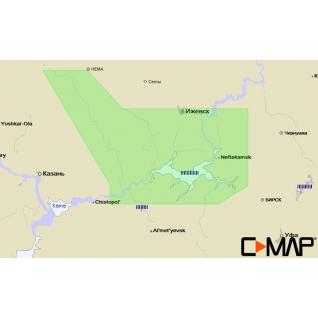 Карта C-MAP RS-N229 - Кама низовье C-MAP