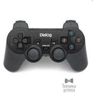 Dialog Dialog Action GP-A11RF черный USB Беспроводной геймпад, RF 2.4G, вибрация, 12 кнопок