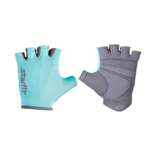 Перчатки для фитнеса Starfit Su-127, мятный/серый размер M