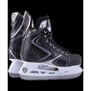Коньки хоккейные кхл Nitro 2020 размер 44 КХЛ