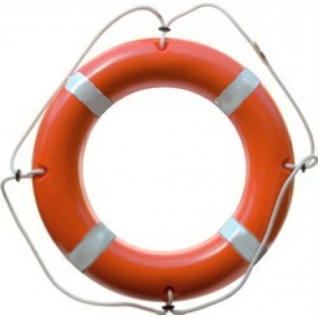 Круг спасательный КС-02, тяжелый (пластик) Сертификат: РРР, РМРС, ГИМС