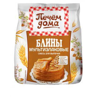 """Русский продукт Смесь для выпечки Печем дома """"Блины Мультизлаковые"""" 300 г"""