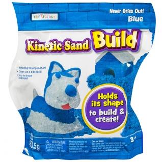 Кинетический песок Kinetic sand Kinetic sand 71428 Кинетический песок Build - набор из 2 цветов (в ассортименте)
