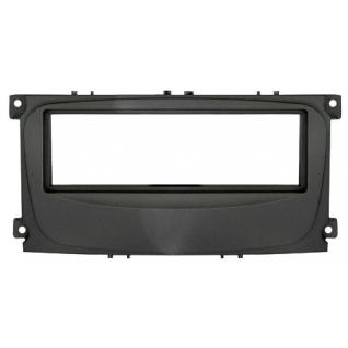 Переходная рамка Intro RFO-N11 для Ford Focus 2 рестайл, Mondeo (08+) C-Max, S-Max, Galaxy new (07+) 1DIN Black Intro