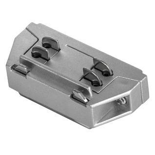 504109 Соединитель трековый трехфазный BARRA малый прямой СЕРЫЙ Lightstar