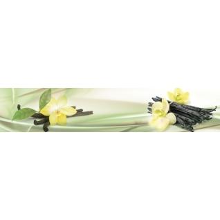 Фартук для кухни АБС Цветы ванили №32 600х3000х1,5мм