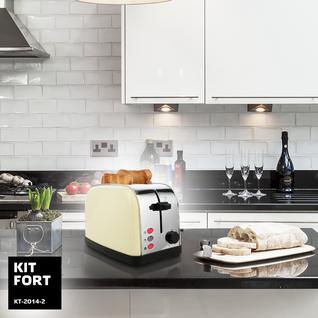 KITFORT Тостер Kitfort KT-2014-2, бежевый