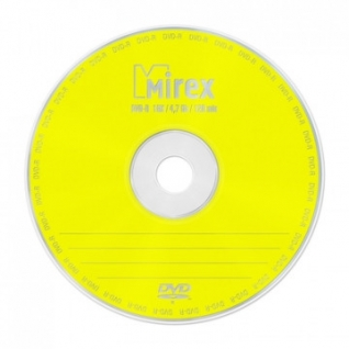 Носители информации Mirex DVD-R 4,7 Гб 16x cake box 10 (UL130003A1L)