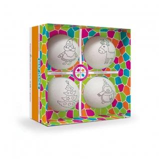 Набор для творчества Шар- Елочные игрушки (4 шара)