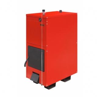 Буржуй-К Модерн-12-2К – двухконтурный модернизированный твердотопливный пиролизный котел мощностью 12 кВт