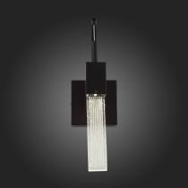 Бра St Luce Черный хром, Анодированная бронза/Прозрачный LED 1*3W SL216.401.01