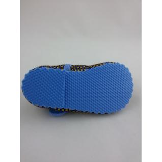 A-1808 Тапочки домашние теплые синие 11-14 (12) Уральские тапки