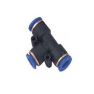 Фитинг T-образный для пластиковых трубок 10мм Partner